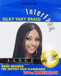 Interface Silky Yaky Braid Janet Collection Braiding Hair ...