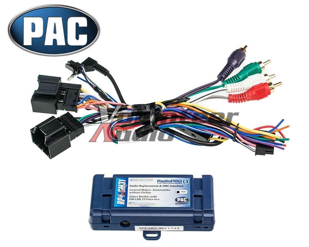 hight resolution of general motors car stereo radio wiring install harness steering