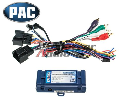 small resolution of general motors car stereo radio wiring install harness steering