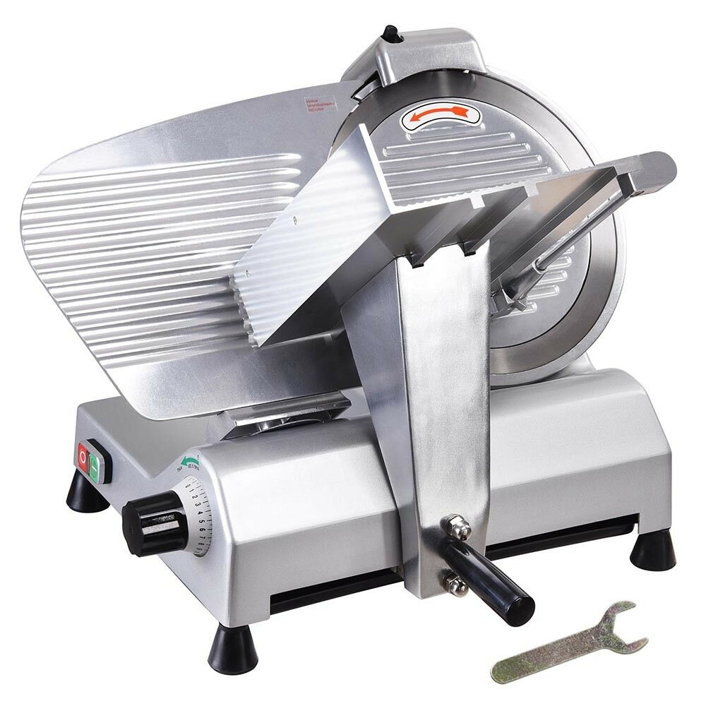 12 Blade Commercial Meat Slicer Electric Deli Slicer