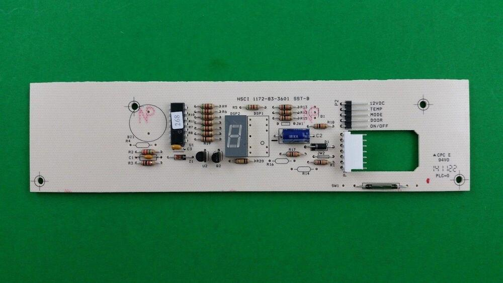 Completed Onesided Circuit Board