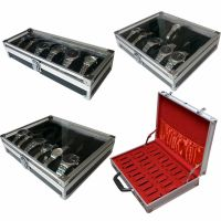 Aluminium Watch Storage Case Bracelet Organiser Display ...