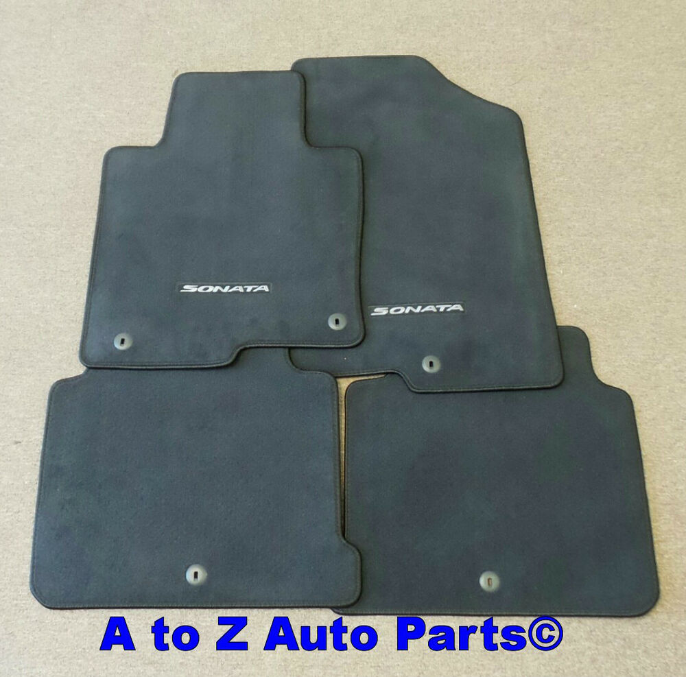 NEW 20152017 Hyundai Sonata FRONT  REAR set of Carpeted