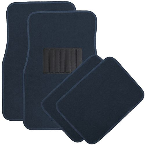 small resolution of details about auto floor mats for ford car truck suv van 4pc full set heavy duty blue carpet
