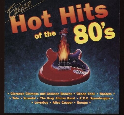 Hot Hits Of The 80's By Various Artists (cd, 1995