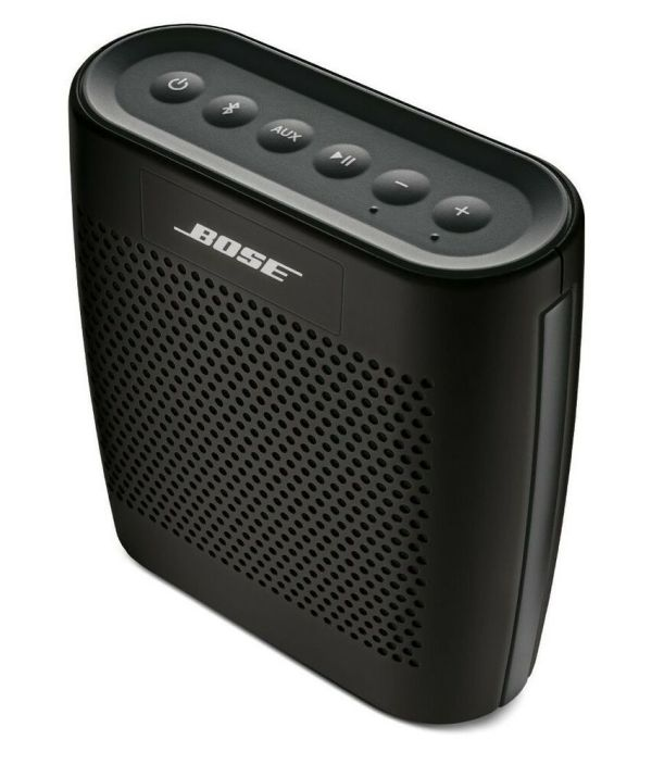 Bose Soundlink Color Bluetooth Speaker - Black Wireless Portable 627840-1110