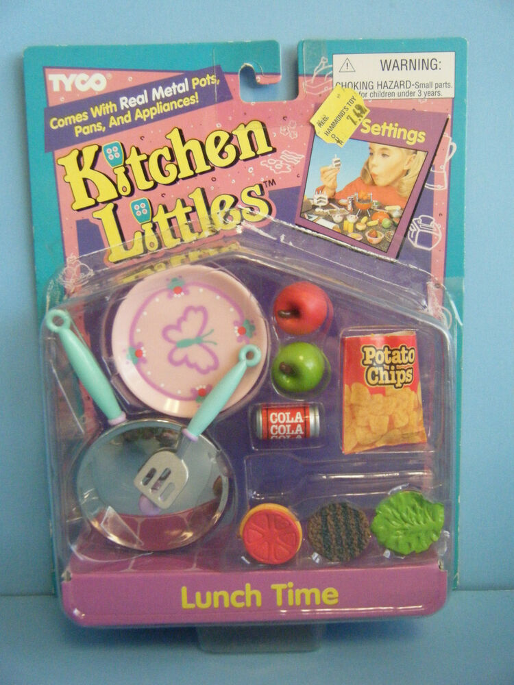Tyco Kitchen Littles Lunch Time New