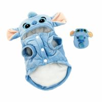 Pet Dog Coat Cute Stitch Costumes Clothes Warm Pet Dog Cat ...