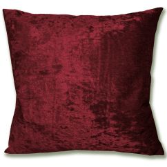 Cotton Velvet Sofa Contemporary Design Mv25a Dark Red Diamond Crushed Cushion Cover/pillow ...