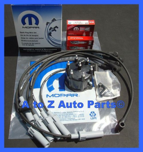 small resolution of details about new jeep wrangler jeep cherokee grand cherokee 4 0 6 cyl tune up kit oem mopar