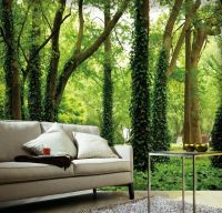 3D Forest Trees 2 Wall Paper Wall Print Decal Wall Deco ...
