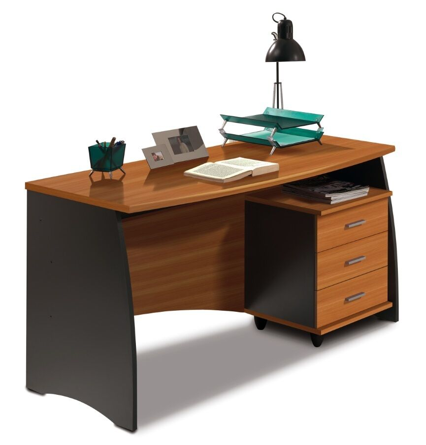 CLEARANCE Primo Computer Desk 3 Drawers Office Furniture