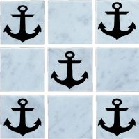Anchor, Vinyl, Wall Tile Stickers,Decal ,Transfers For ...