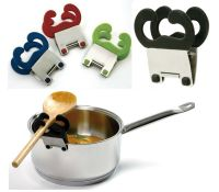 Norpro Pot Pan Clip Spoon Spatula Rest Holder Kitchen ...