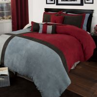 Teal And Black Queen Bedding
