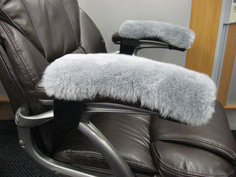 faux leather chair pads red metal dining chairs sheepskin recliner covers on shoppinder