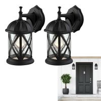 Outdoor Exterior Wall Lantern Light Fixture Sconce Twin ...
