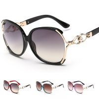 Women's Retro Fashion Designer Pearl Sunglasses Outdoor ...