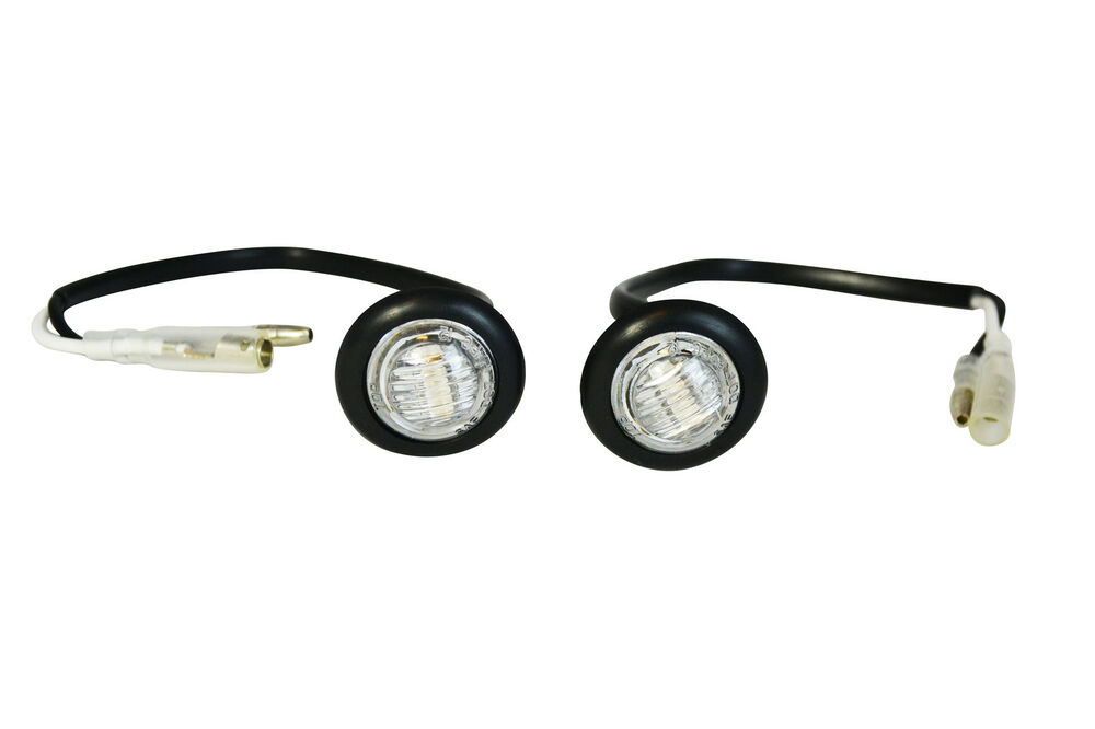 PAIR LED Indicators Marker Lights For Harley Road Glide