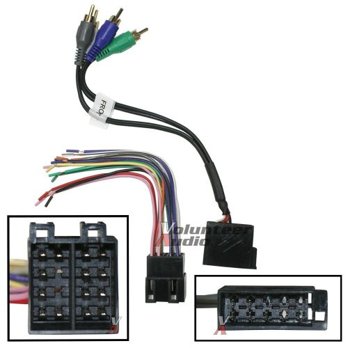 small resolution of car stereo cd player wiring harness wire aftermarket radio stereo wiring harness adapter stereo wiring harness kit