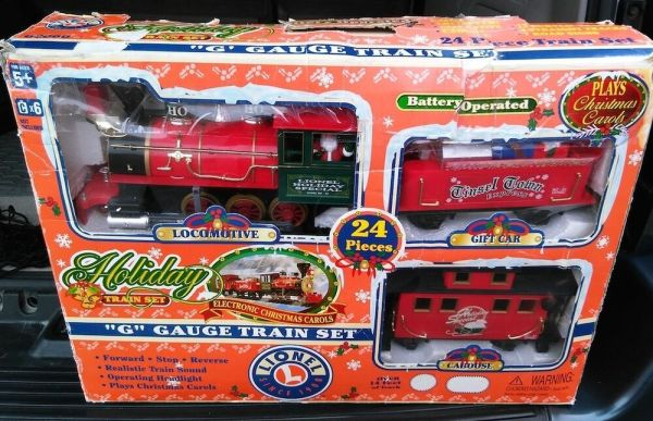 Lionel GScale Holiday Special Christmas Train in Box eBay