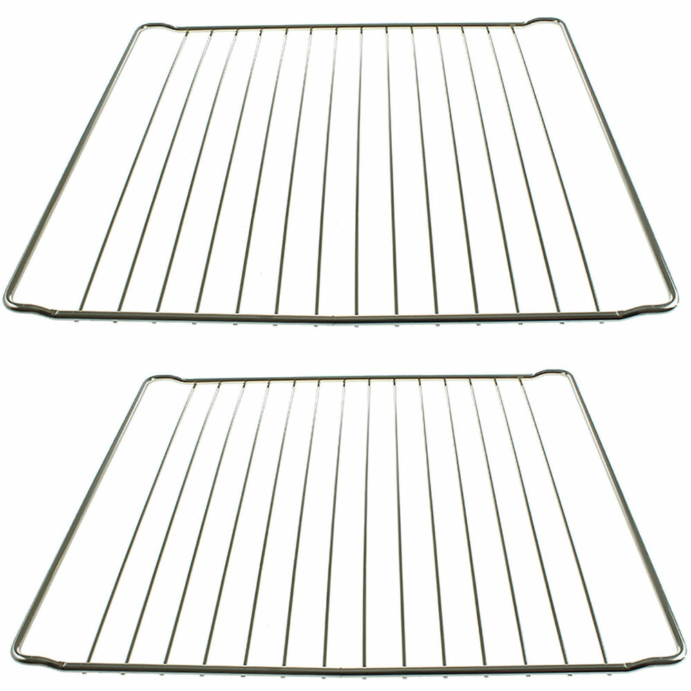 2 x 365mm x 397mm Strong Wire Oven Shelves Shelf Rack