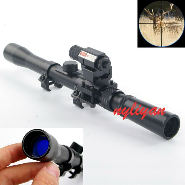 Hunting 37X20 Air Gun Rifle Optics Cross Reticle Scope