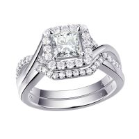 925 Sterling Silver Women's Wedding Band AAA CZ Bridal ...
