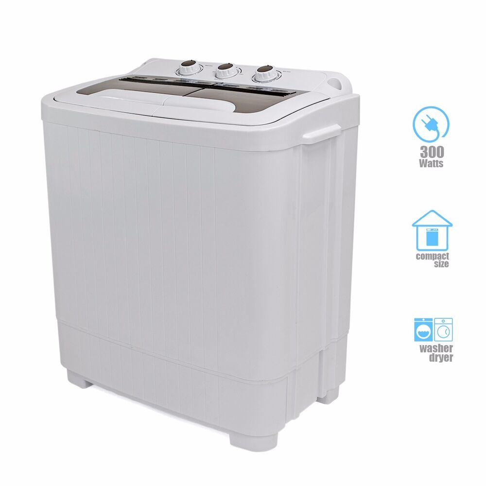 Portable Mini Washer Compact 89 lbs Washing Spin Dryer