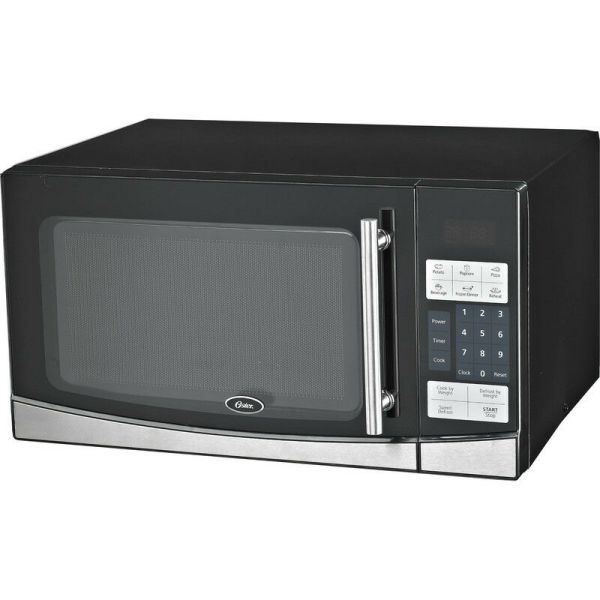 Oster 1000 Watt Digital Microwave Oven Countertop Cooker With Glass Turntable 836321005369
