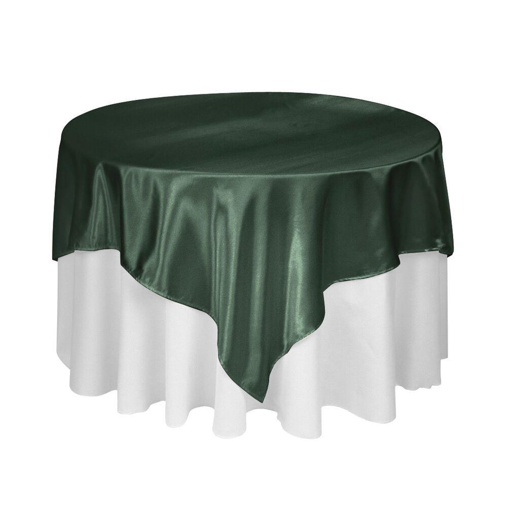 turquoise kitchen decor cabinets reviews hunter green bridal satin overlay 58