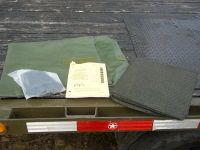 MILITARY 16x16 FRAME TENT CAMPING HUNTING ARMY VINYL ...