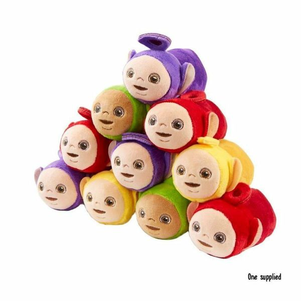 Teletubbies Stackable Soft Toy - Po Laa-laa Dipsy Tinky