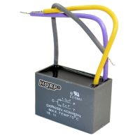 HQRP Motor Ceiling Fan Capacitor 1.5uF+3uF 3-Wire CBB61 ...
