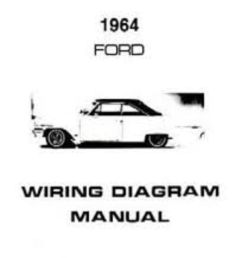 1964 ford galaxie custom 300 500 country squire wiring diagrams manual nice new ebay [ 826 x 1000 Pixel ]