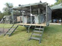 MOBLE ARMY FIELD KITCHEN MILITARY TENT SURPLUS 6 MBU