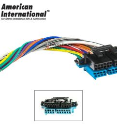 plugs into factory radio car stereo wiring harness wire reverse fits gm 12339803436 ebay [ 1000 x 800 Pixel ]