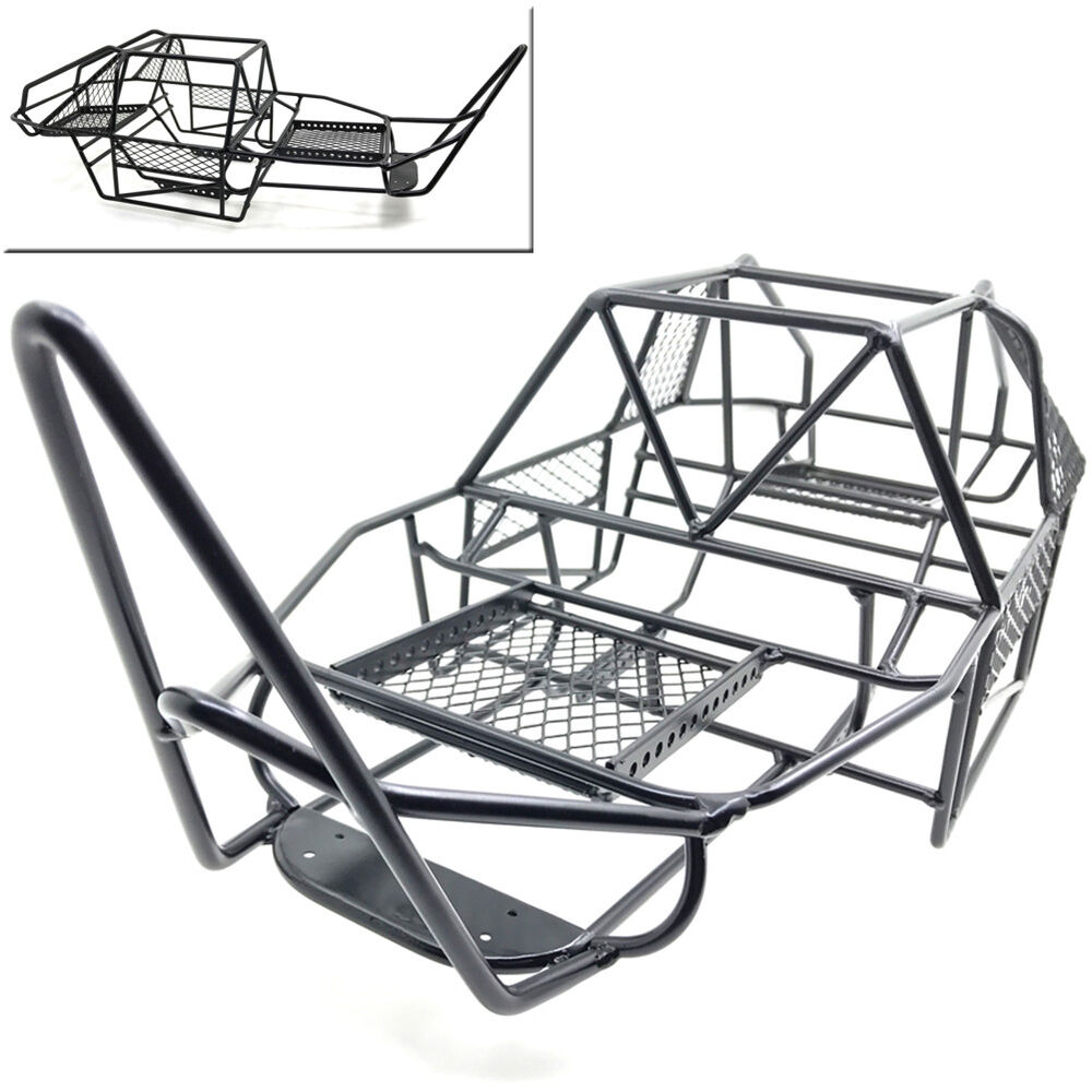 Steel Roll Chassis Frame Cage Shell Body for RC 1:10 Axial