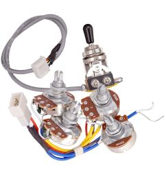 details about electric guitar accs circuit wiring kit a500k b500k pots 3 way toggle switch [ 1000 x 1000 Pixel ]