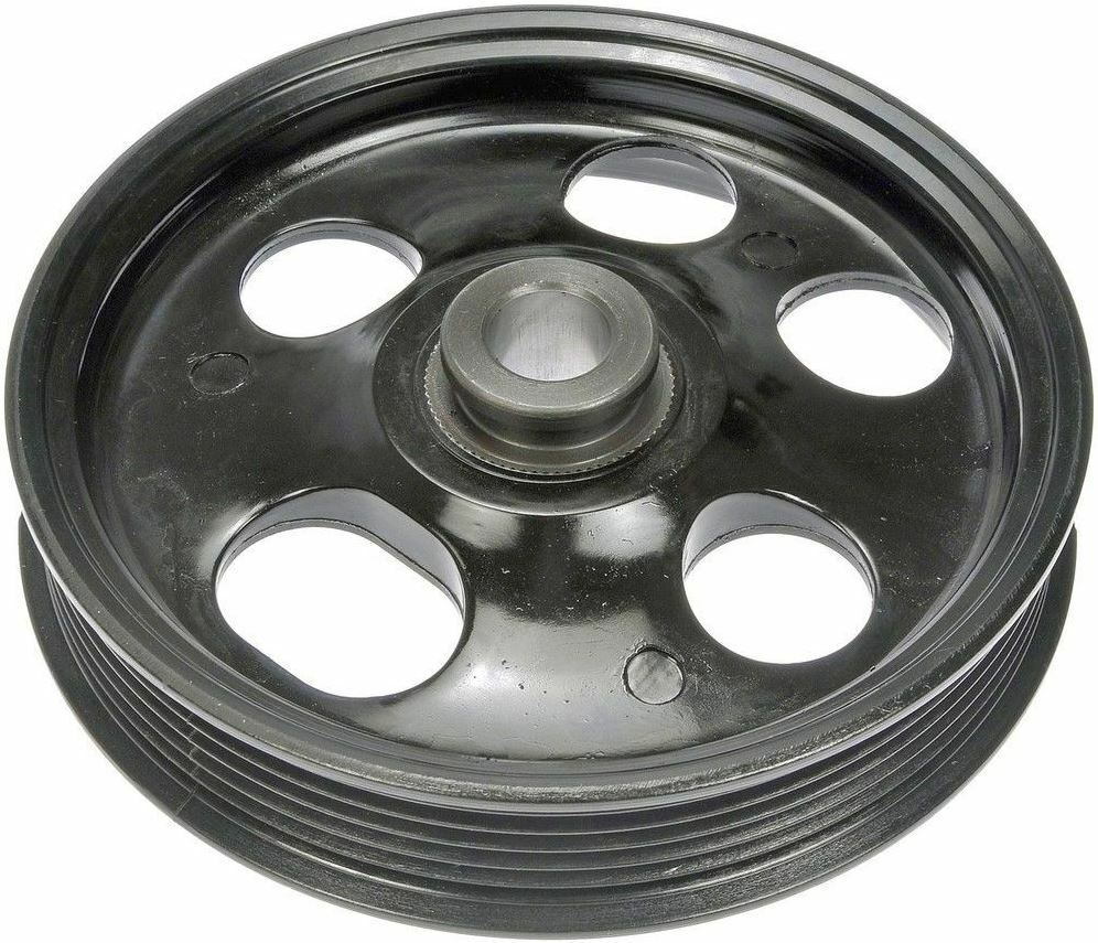 medium resolution of ford power steering pump pulley replaces oe 5f9z3a733aa dorman 300 008 ebay