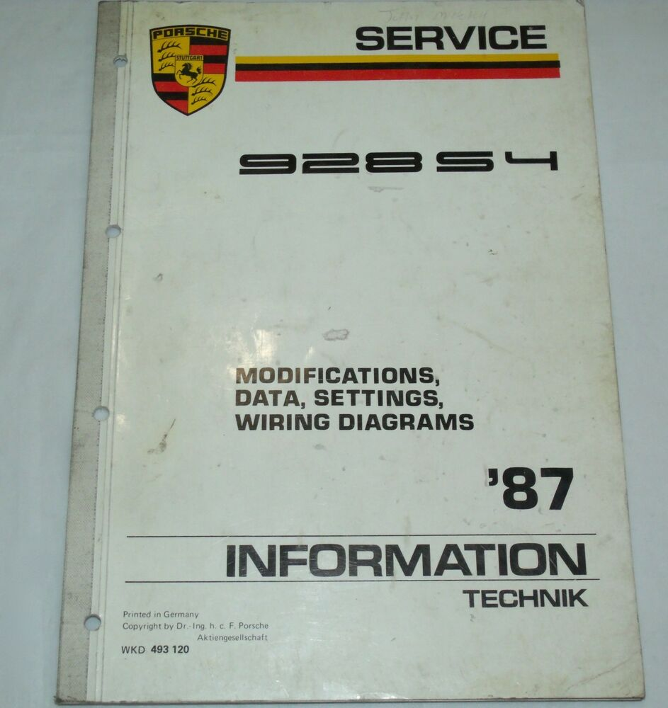 medium resolution of porsche 928 s4 wiring diagram fuse box u0026 wiring diagramtechnik 1987 porsche 928 s4 wiring
