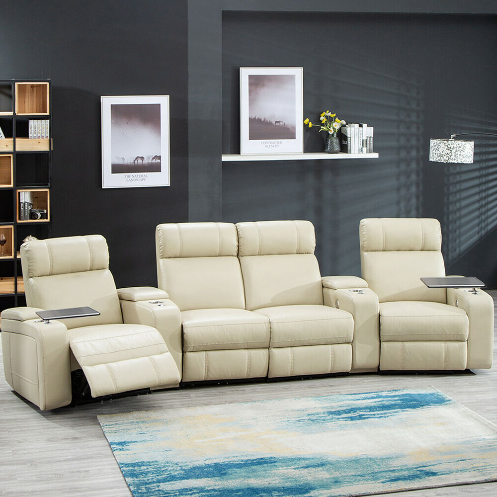 home theater reclining sectional sofa bryght reviews seating power recliner details about