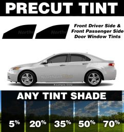 details about precut window tint for oldsmobile aurora 95 99 front doors any shade  [ 1000 x 1000 Pixel ]