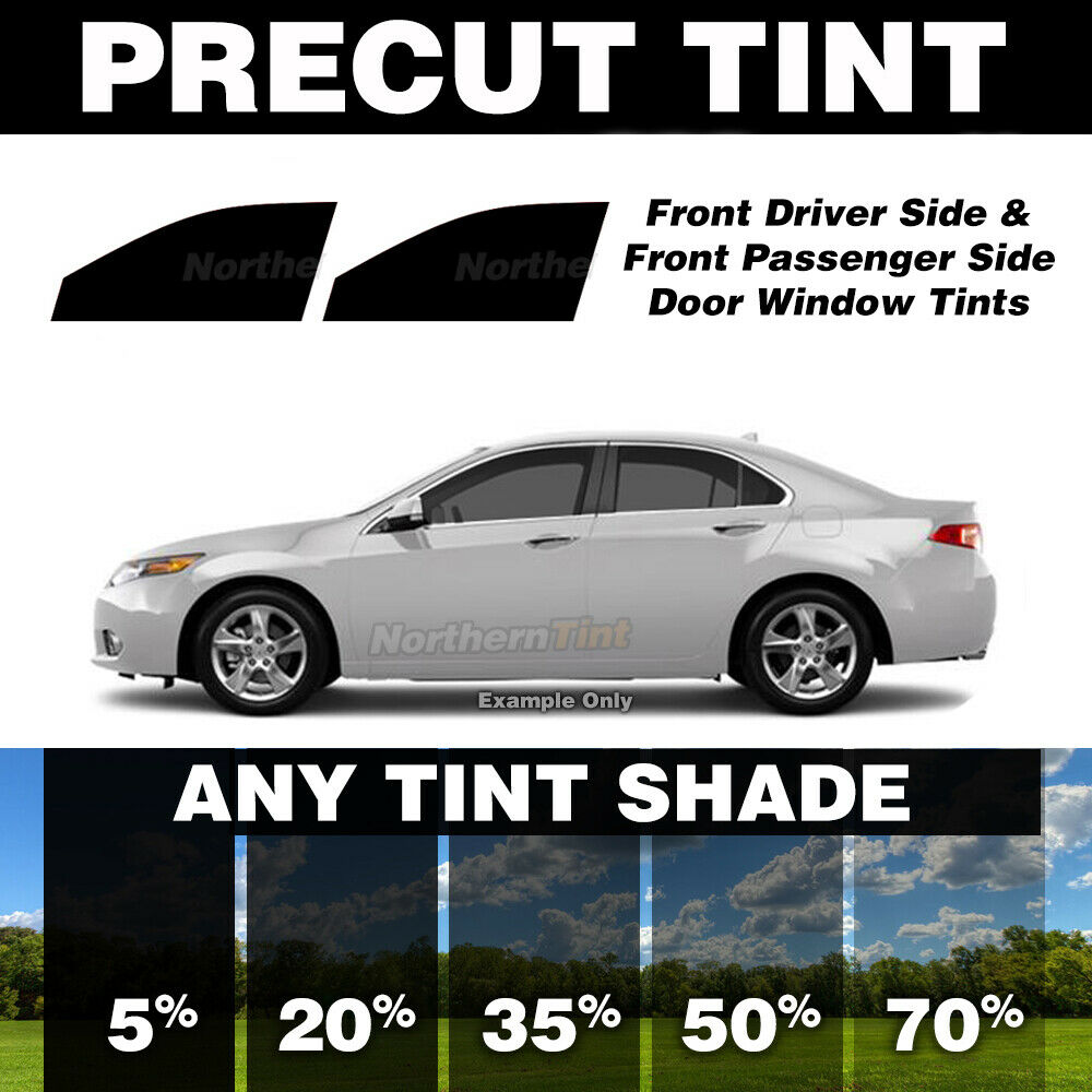 medium resolution of details about precut window tint for oldsmobile aurora 95 99 front doors any shade