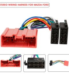 details about car stereo radio iso wiring harness loom adaptor connector cable for mazda ford [ 1000 x 1000 Pixel ]
