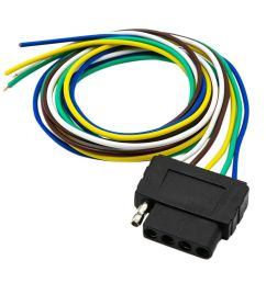 details about 5pin flat plug wire wiring harness connection kit for trailer boat car rv us [ 1000 x 1000 Pixel ]