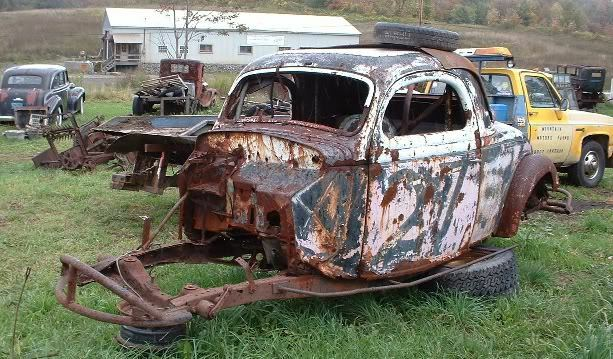 1935 1936 Ford 3 Window Coupe Old Stock Car EBay