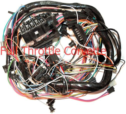 small resolution of 1974 corvette dash wiring harness without a c new ebay 1974 corvette wiring diagram pdf wiring diagram
