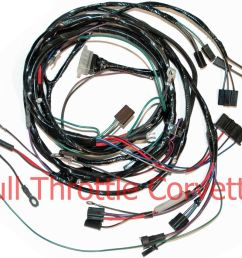 1964 corvette sign 1964 1965 corvette small block engine wiring harness with [ 1000 x 850 Pixel ]