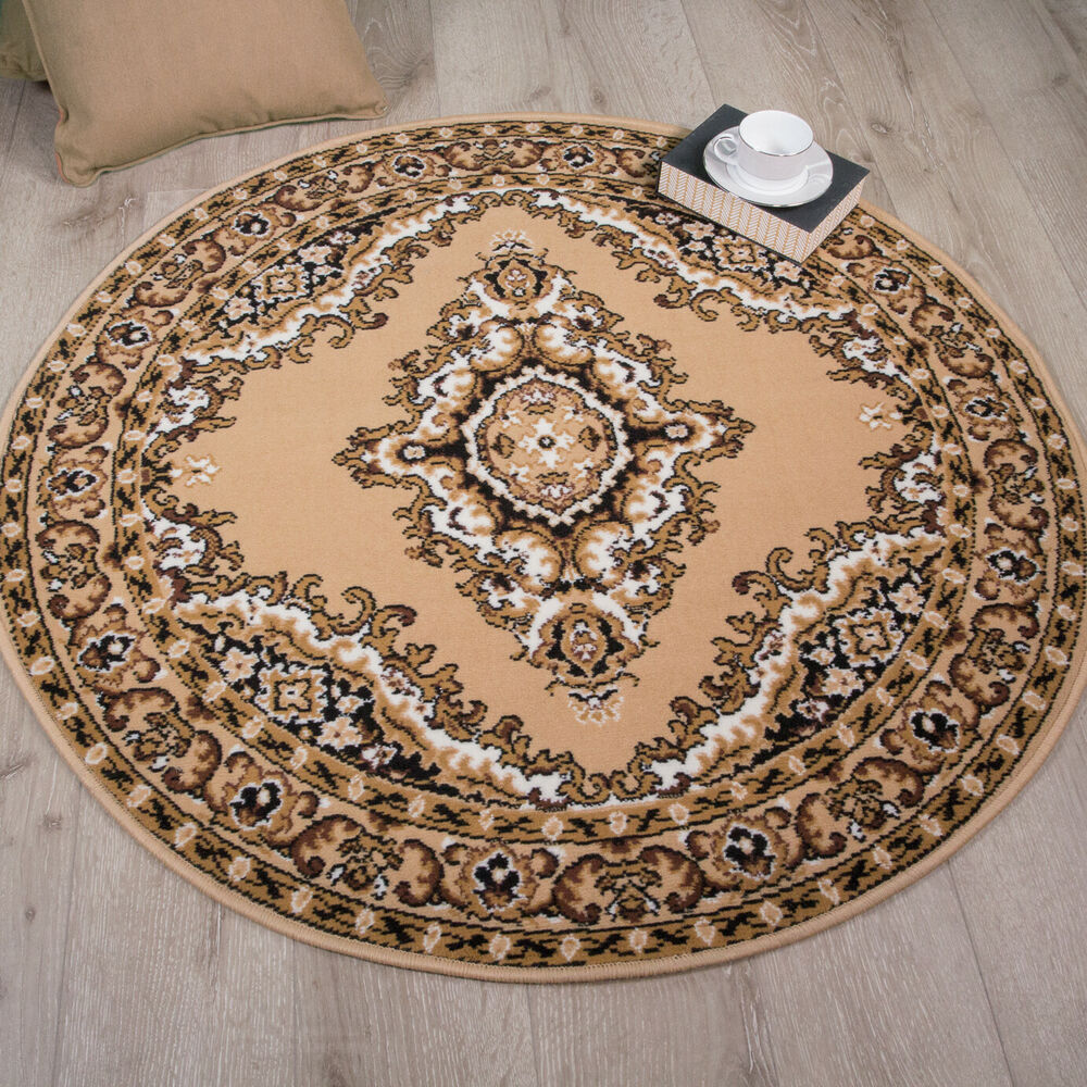Light Brown Beige Traditional Flower Long Hall Runner Rug Extra Long Runner Rugs  eBay
